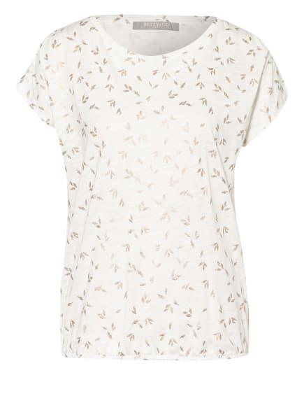 BETTY&CO T-Shirt , Farbe: WEISS/ SILBER (Bild 1)