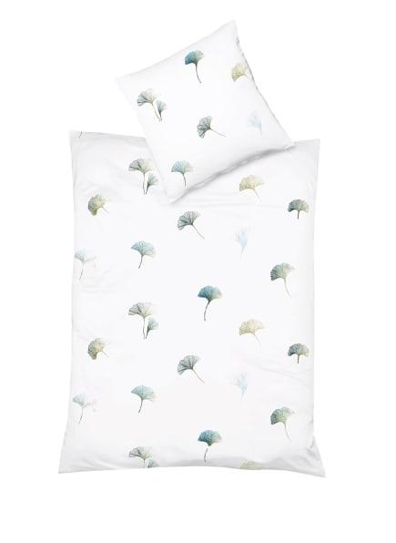 fleuresse Bettwäsche SAINT TROPEZ, Farbe: WEISS/ PETROL/ BLAU (Bild 1)