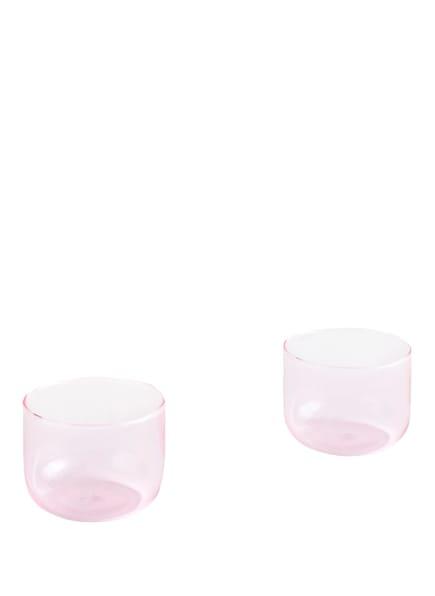HAY 2er-Set Trinkgläser TINT, Farbe: ROSÉ (Bild 1)