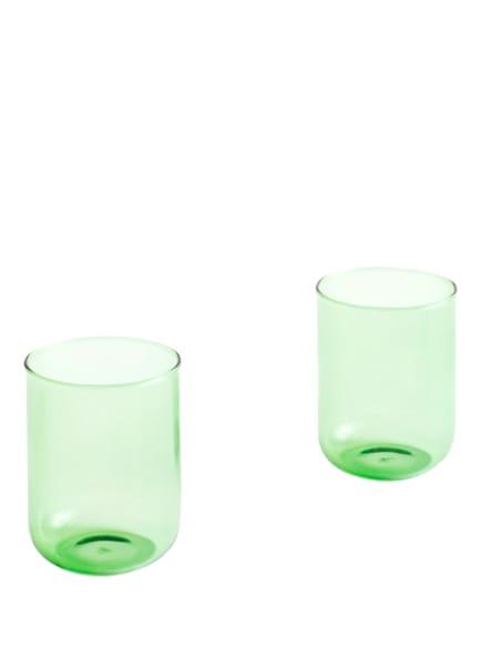 HAY 2er-Set Trinkgläser TINT, Farbe: HELLGRÜN (Bild 1)