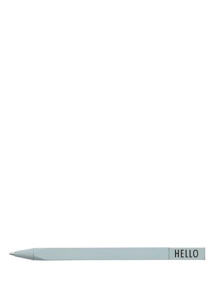 DESIGN LETTERS Drehkugelschreiber, Farbe: GREEN (Bild 1)