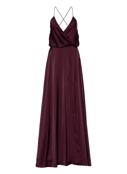 unique Abendkleid mit Stola, Farbe: DUNKELROT (Bild 1)