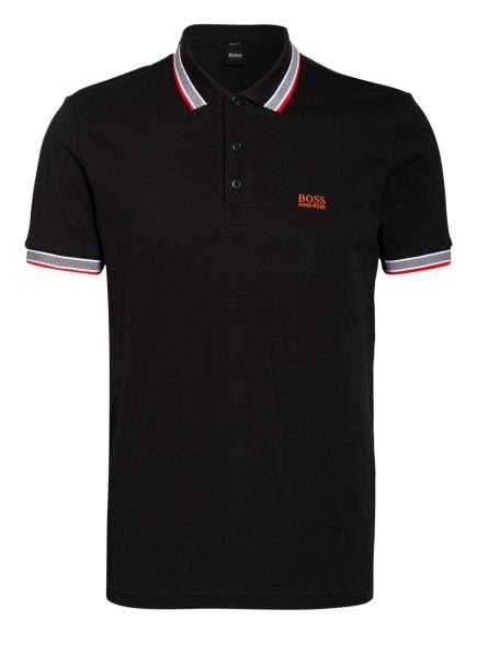 BOSS Piqué-Poloshirt PADDY Regular Fit, Farbe: SCHWARZ (Bild 1)