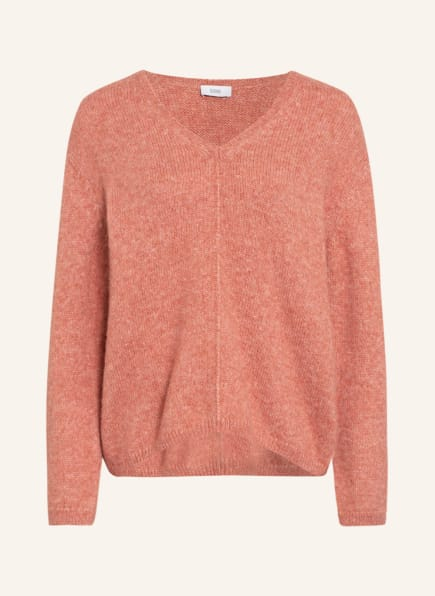 CLOSED Pullover mit Alpaka, Farbe: HELLROT/ LACHS (Bild 1)