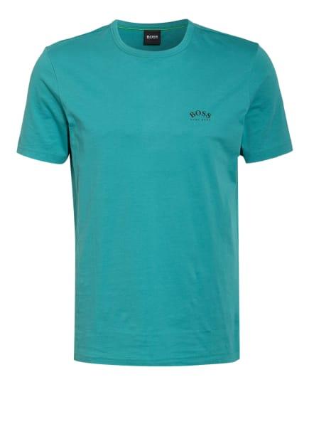 BOSS T-Shirt CURVED, Farbe: TÜRKIS (Bild 1)