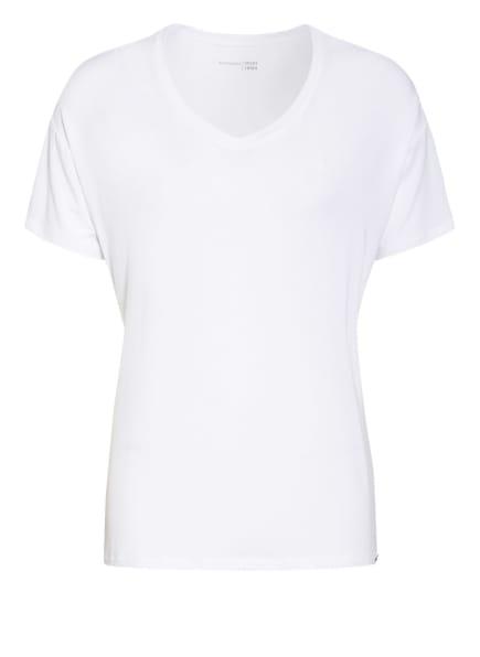 SCHIESSER Schlafshirt MIX+RELAX, Farbe: WEISS (Bild 1)