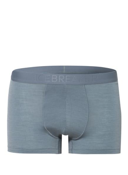 icebreaker Funktionswäsche-Boxershorts ANATOMICA COOL LITE mit Merinowolle, Farbe: BLAUGRAU (Bild 1)