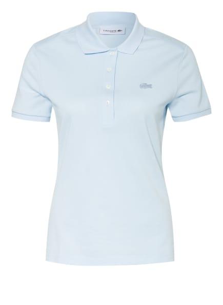 LACOSTE Piqué-Poloshirt Slim Fit, Farbe: HELLBLAU (Bild 1)