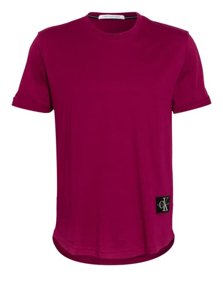 Calvin Klein Jeans T-Shirt , Farbe: FUCHSIA (Bild 1)