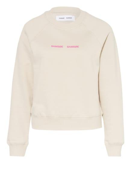 SAMSØE  SAMSØE Sweatshirt BARLETTA , Farbe: BEIGE/ ROSA (Bild 1)