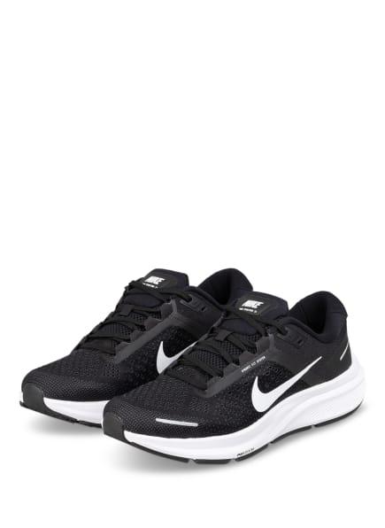 Nike Laufschuhe AIR ZOOM STRUCTURE 23, Farbe: SCHWARZ (Bild 1)