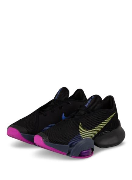 Nike Fitnessschuhe AIR ZOOM SUPERREP 2, Farbe: SCHWARZ/ LILA (Bild 1)