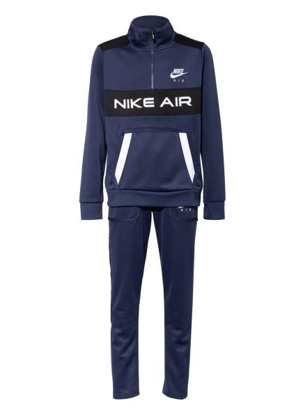 Nike Trainingsanzug AIR, Farbe: BLAU/ WEISS/ SCHWARZ (Bild 1)