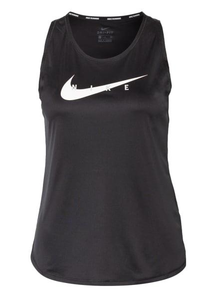 Nike Tanktop SWOOSH RUN, Farbe: SCHWARZ (Bild 1)