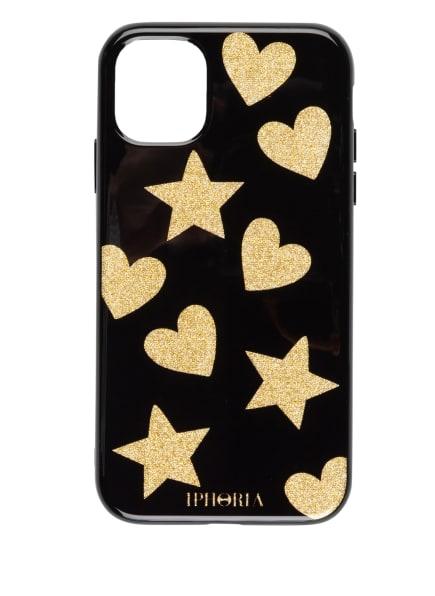 IPHORIA Smartphone-Hülle, Farbe: SCHWARZ/ GOLD (Bild 1)