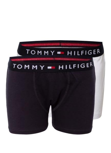 TOMMY HILFIGER 2er-Pack Boxershorts , Farbe: DUNKELBLAU/ WEISS (Bild 1)