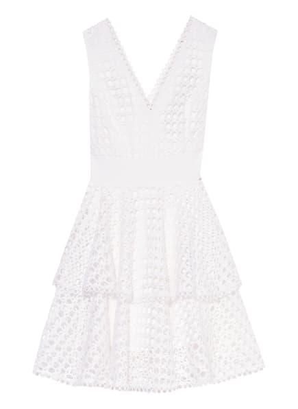 GUESS Kleid RIANNA mit Lochspitze, Farbe: WEISS (Bild 1)