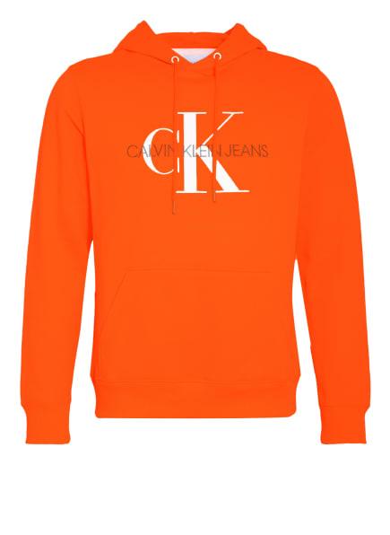 Calvin Klein Jeans Hoodie, Farbe: NEONORANGE (Bild 1)