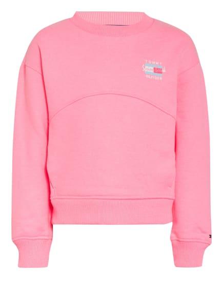 TOMMY HILFIGER Sweatshirt, Farbe: NEONPINK (Bild 1)