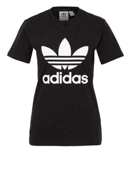 adidas Originals T-Shirt ADICOLOR CLASSICS, Farbe: SCHWARZ/ WEISS (Bild 1)