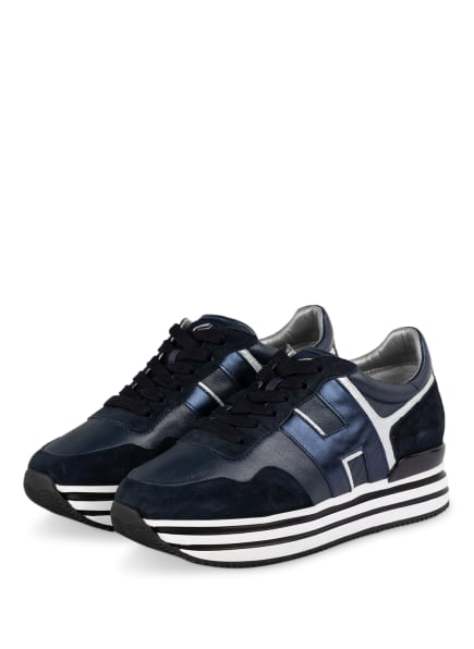 HOGAN Plateau-Sneaker , Farbe: DUNKELBLAU (Bild 1)
