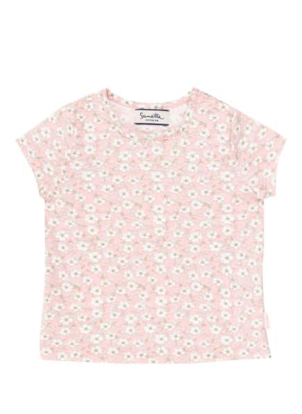 Sanetta FIFTYSEVEN T-Shirt, Farbe: ROSA/ WEISS/ GRÜN (Bild 1)
