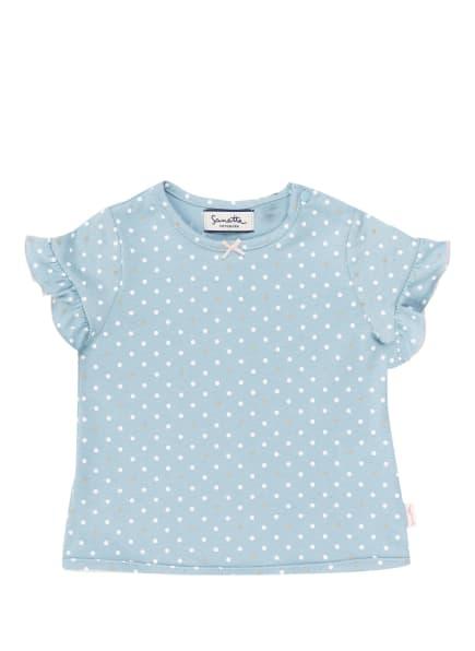Sanetta FIFTYSEVEN T-Shirt, Farbe: HELLBLAU/ WEISS/ GRAU (Bild 1)