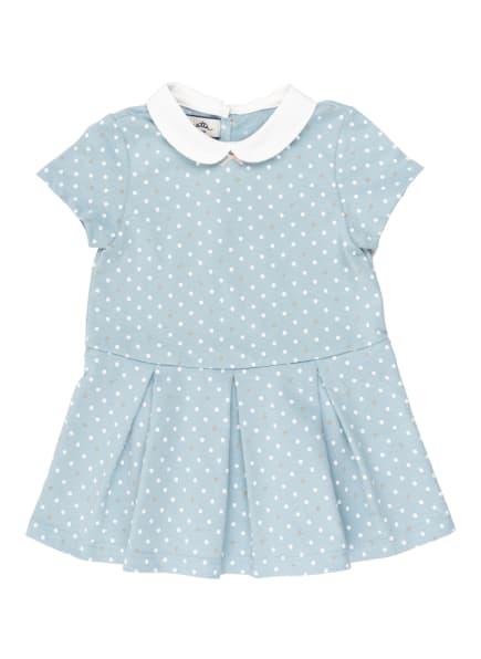 Sanetta FIFTYSEVEN Kleid, Farbe: HELLBLAU/ WEISS (Bild 1)