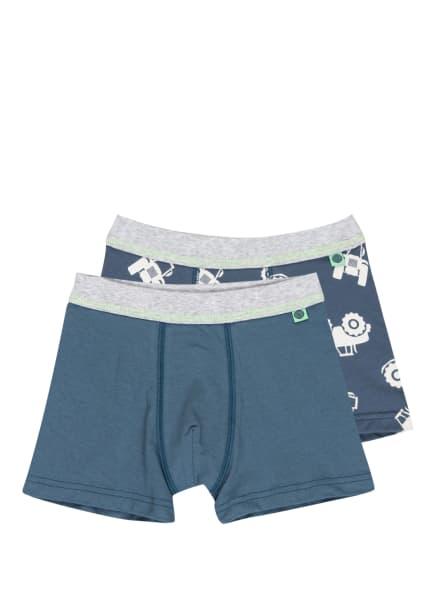 Sanetta 2er-Pack Boxershorts , Farbe: BLAU/ WEISS (Bild 1)