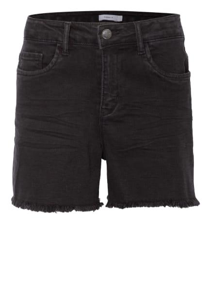 name it Jeans-Shorts Regular Fit, Farbe: SCHWARZ (Bild 1)