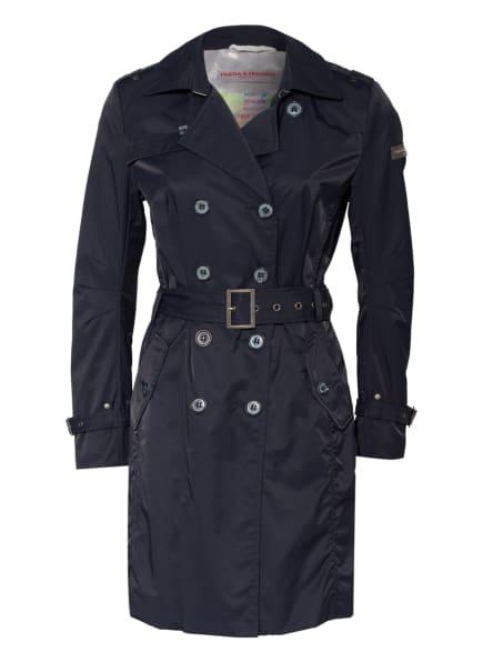 FRIEDA&FREDDIES Trenchcoat, Farbe: DUNKELBLAU (Bild 1)