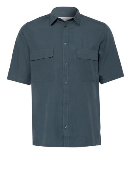 SAMSØE  SAMSØE Kurzarm-Hemd TARO Regular Fit, Farbe: PETROL (Bild 1)