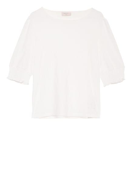 FREEQUENT T-Shirt FQBLONDIE mit Lochstickerei, Farbe: WEISS (Bild 1)