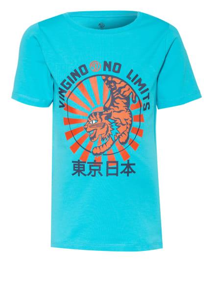 VINGINO T-Shirt HAMZA, Farbe: TÜRKIS/ ROT/ SCHWARZ (Bild 1)