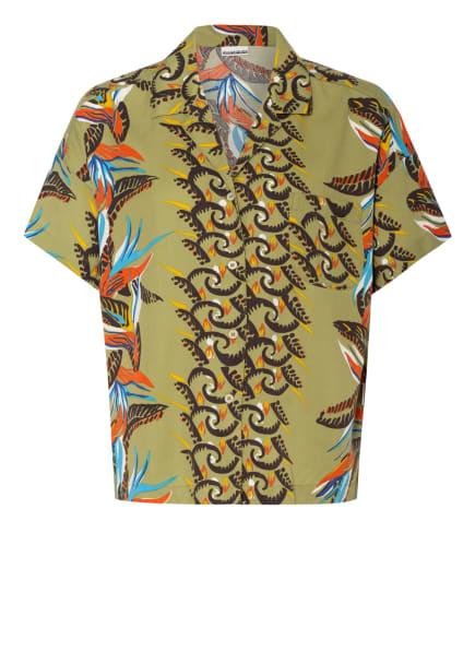 NAPAPIJRI Bluse GELOR, Farbe: ORANGE/ OLIV/ BLAU (Bild 1)