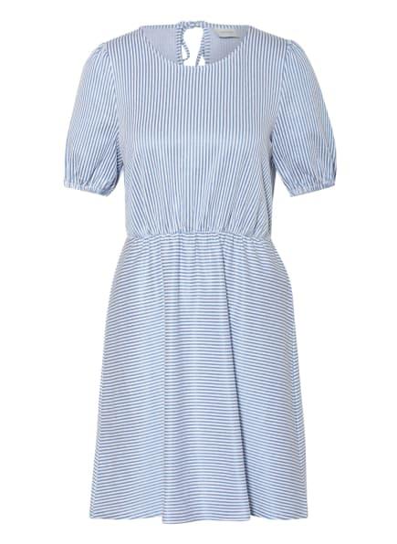 VILA Kleid, Farbe: BLAU/ WEISS (Bild 1)