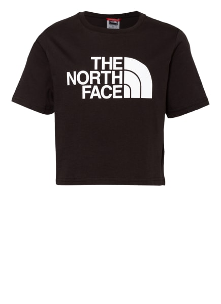 THE NORTH FACE Cropped-Shirt EASY, Farbe: SCHWARZ (Bild 1)