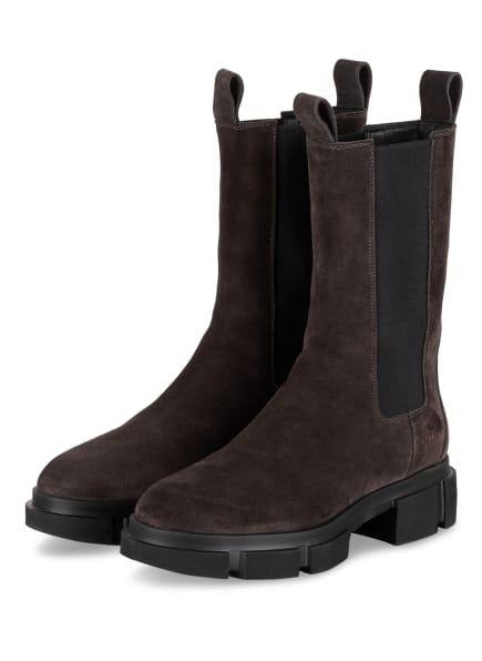 COPENHAGEN Chelsea-Boots CROSTA, Farbe: SCHWARZ/ TAUPE (Bild 1)