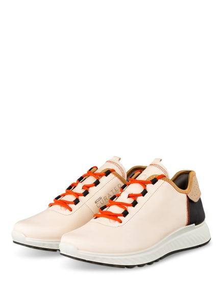 ECCO Sneaker ST.1, Farbe: CREME/ SCHWARZ/ BEIGE (Bild 1)