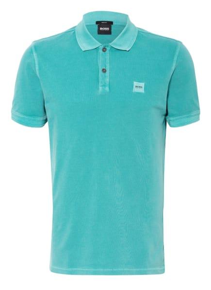 BOSS Piqué-Poloshirt PRIME Slim Fit, Farbe: TÜRKIS (Bild 1)