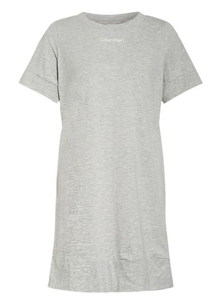 Calvin Klein Nachthemd CK RECONSIDERED, Farbe: HELLGRAU (Bild 1)