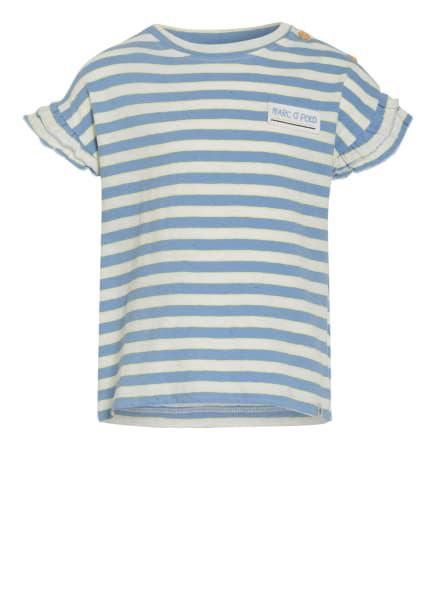 Marc O'Polo T-Shirt, Farbe: WEISS/ HELLBLAU/ GELB (Bild 1)