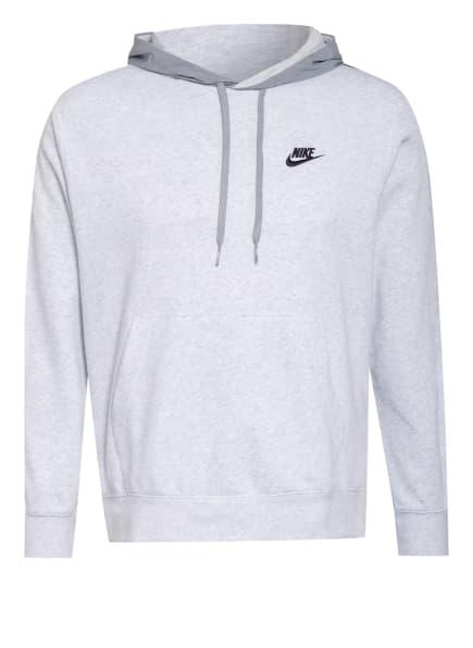 Nike Hoodie SPORTSWEAR mit Galonstreifen, Farbe: WEISS/ HELLGRAU/ SCHWARZ (Bild 1)
