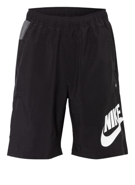 Nike Shorts, Farbe: SCHWARZ/ DUNKELGRAU (Bild 1)