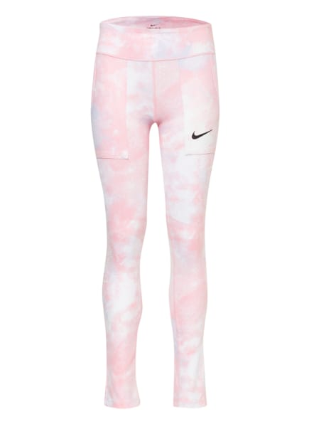 Nike Tights ONE , Farbe: ROSA/ WEISS (Bild 1)