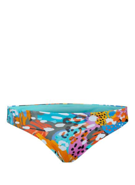 PrimaDonna Bikini-Hose CARIBE, Farbe: BLAU/ ORANGE/ PINK (Bild 1)