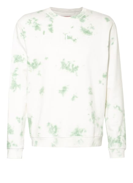 GUESS Sweatshirt, Farbe: WEISS/ HELLGRÜN (Bild 1)