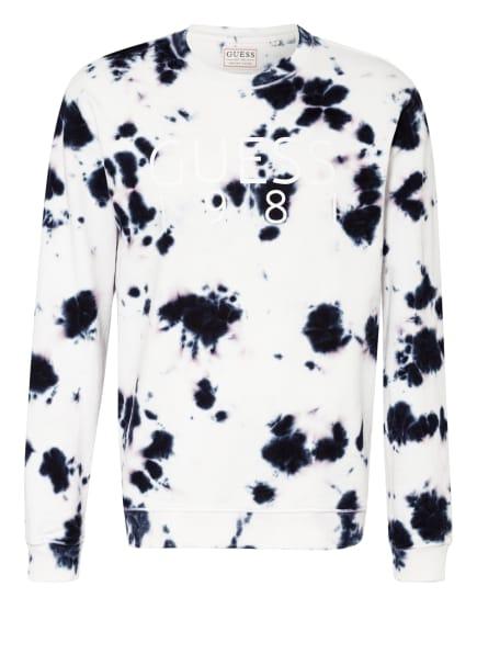 GUESS Sweatshirt, Farbe: WEISS/ DUNKELBLAU (Bild 1)