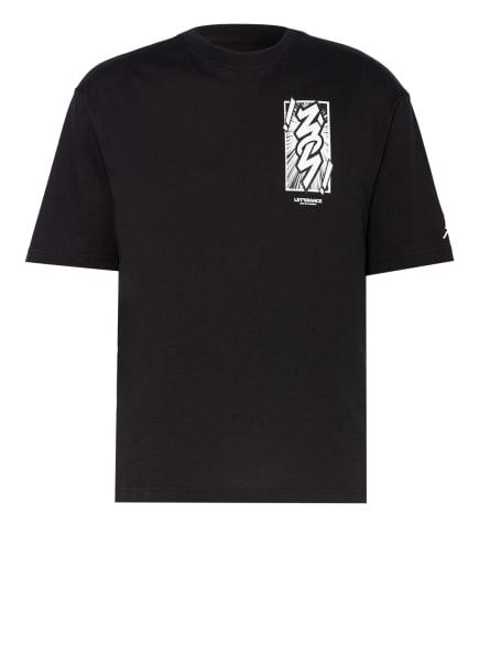 JORDAN T-Shirt JORDAN DRI-FIT ZION, Farbe: SCHWARZ/ WEISS (Bild 1)
