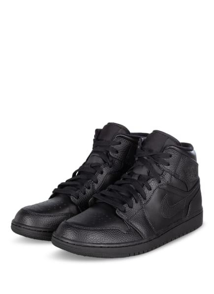 JORDAN Hightop-Sneaker AIR JORDAN 1 MID, Farbe: SCHWARZ (Bild 1)